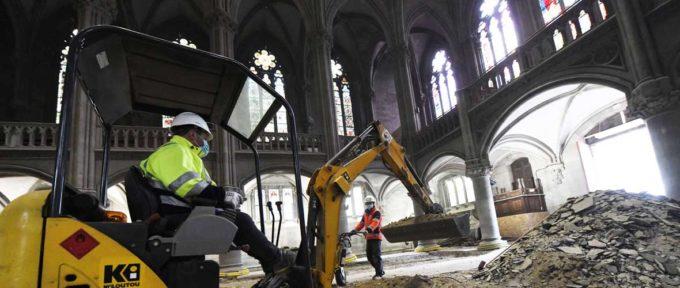 Temple Saint-Etienne: après les travaux extérieurs, l'intérieur!