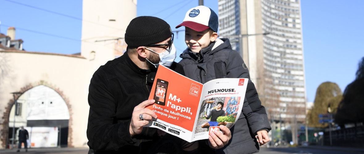 « Mulhouse, la nouvelle «Ville du Quart d'heure» ? » à la une du supplément M+ | M+ Mulhouse