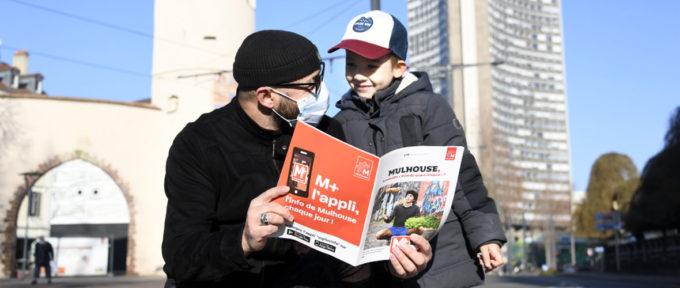 « Mulhouse, la nouvelle «Ville du Quart d'heure» ? » à la une du supplément M+