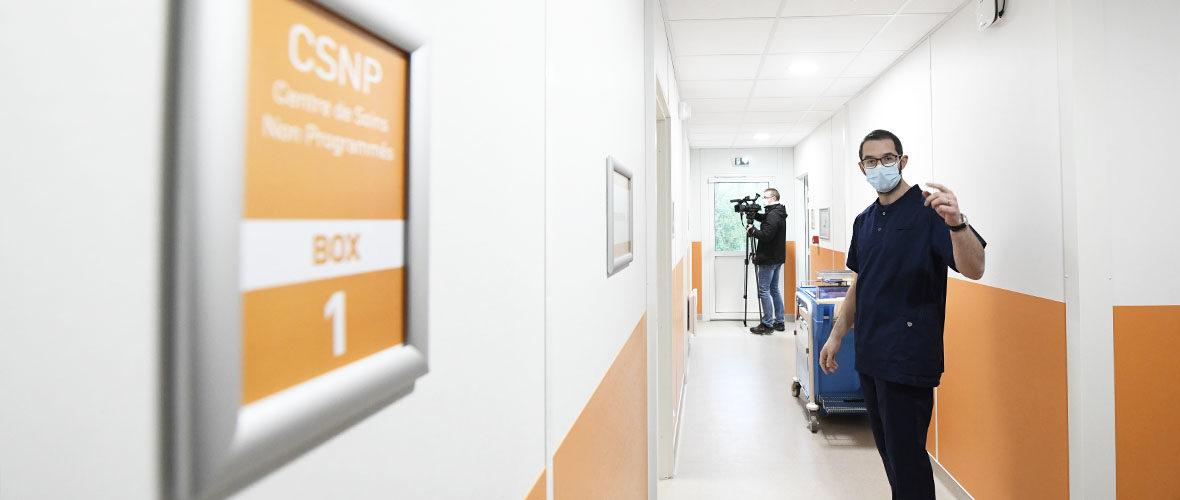 Le Centre de soins non programmés de Mulhouse ouvre ses portes, lundi 3 mai | M+ Mulhouse