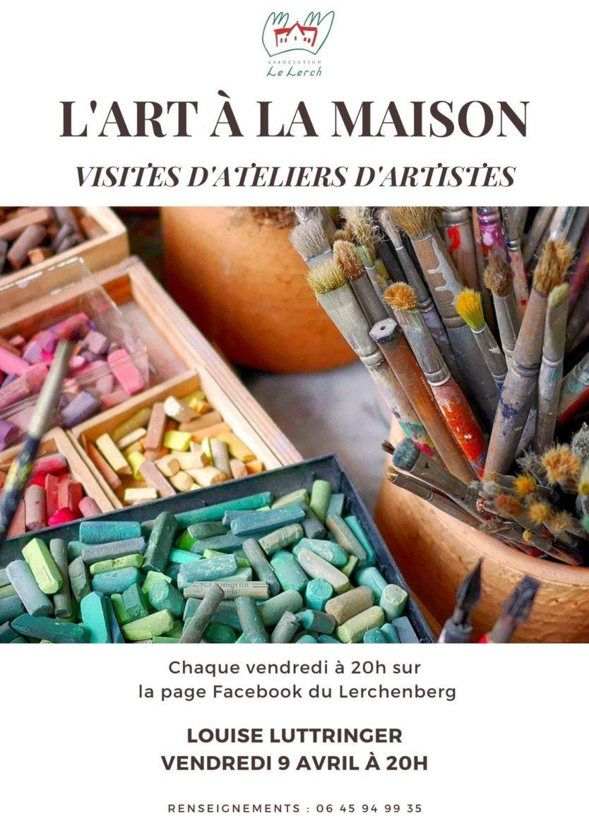 L'art à la maison - L'atelier de Louise Luttringer