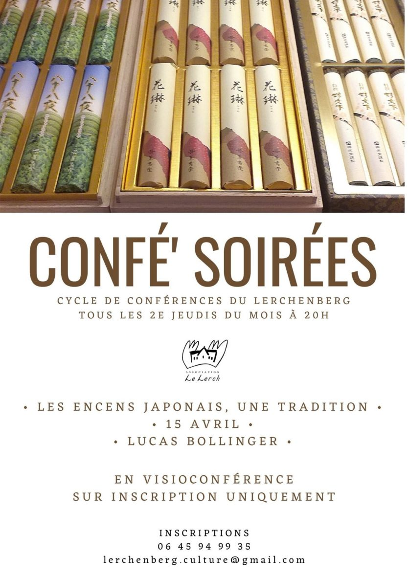 Confé' Soirées - Les encens japonais, une tradition