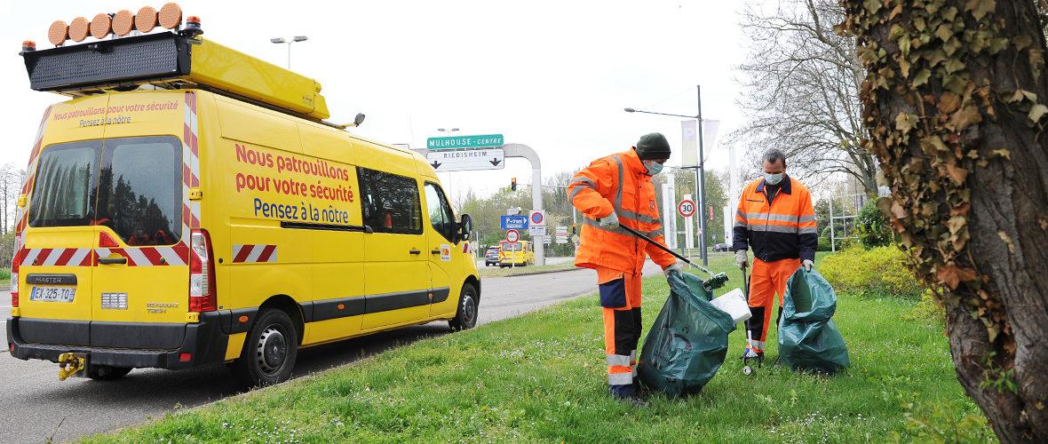 Osterputz: «500 kg de déchets ramassés en trois heures» | M+ Mulhouse
