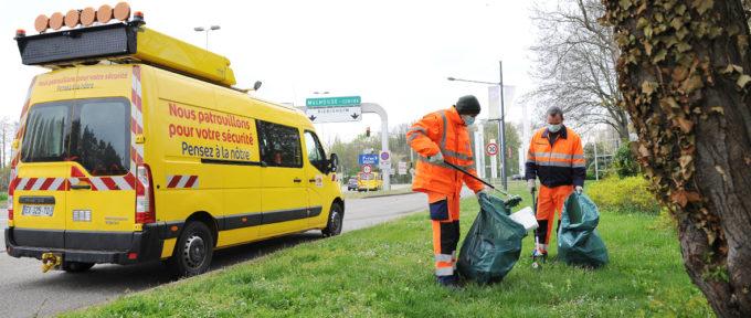Osterputz: «500 kg de déchets ramassés en trois heures»