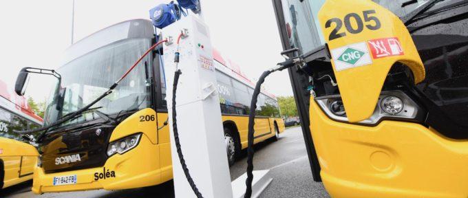 Transports : Soléa déploie ses bus au biogaz