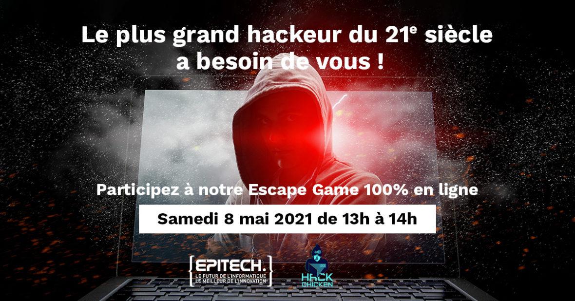 Escape Game en ligne « Hack Chicken »