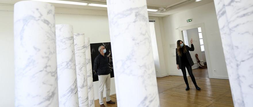 "Expo ""Œuvres vives, Carte blanche à Geraldine Husson"""