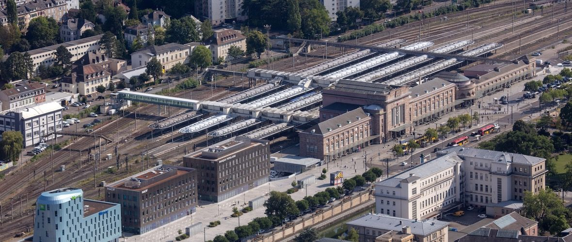 Le réseau ferroviaire de Mulhouse se modernise | M+ Mulhouse