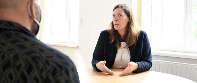 Pauline Andrieu, médiatrice de la Ville: «Là pour mettre de l'huile dans les rouages entre les usagers et les services municipaux!»