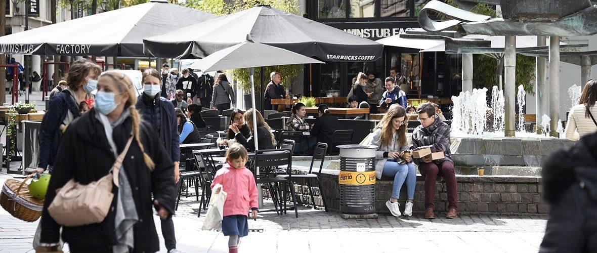 [Reportage] Déconfinement : Mulhousereprend des couleurs !   M+ Mulhouse