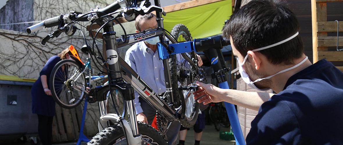 Autoréparation de vélos: faire soi-même, avec les Poto'cyclettes | M+ Mulhouse