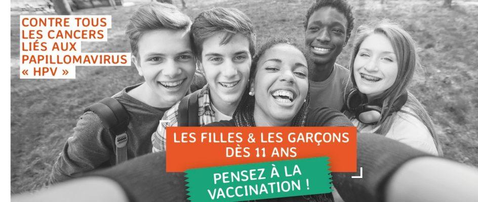 La ligue contre le cancer se mobilise pour la vaccination contre les papillomavirus
