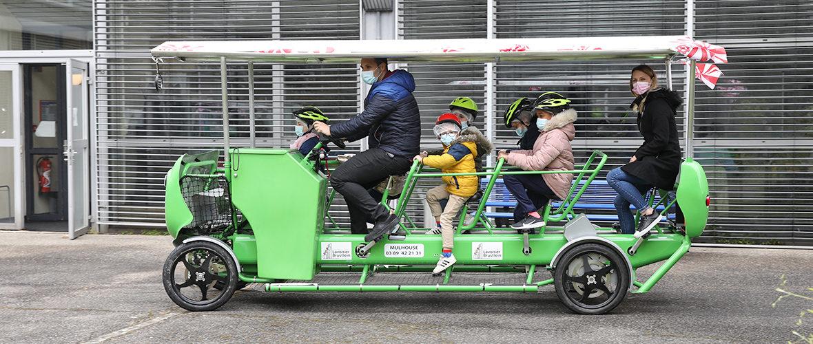 Vélo'bus: pédaler pour avancer, dans la bonne humeur | M+ Mulhouse