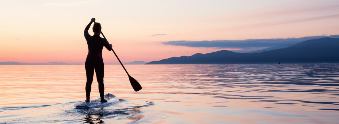 Fitness sur paddle