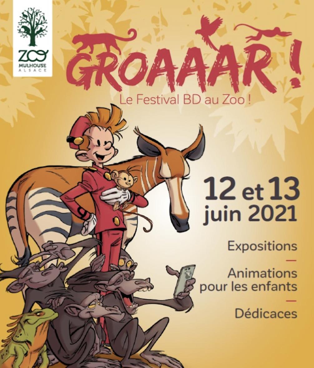 Groaaar ! Le festival BD au Zoo !