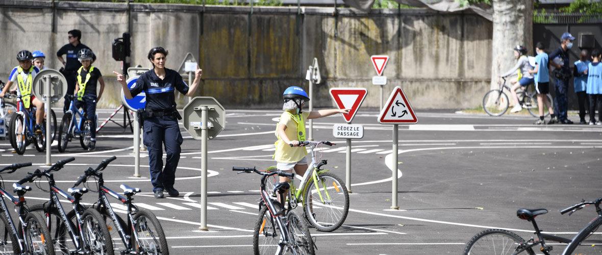 Une nouvelle piste d'éducation à la sécurité routière à la Cité de l'auto   M+ Mulhouse