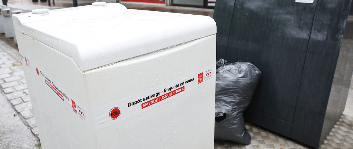Du porte à porte pour lutter contre les dépôts sauvages | M+ Mulhouse