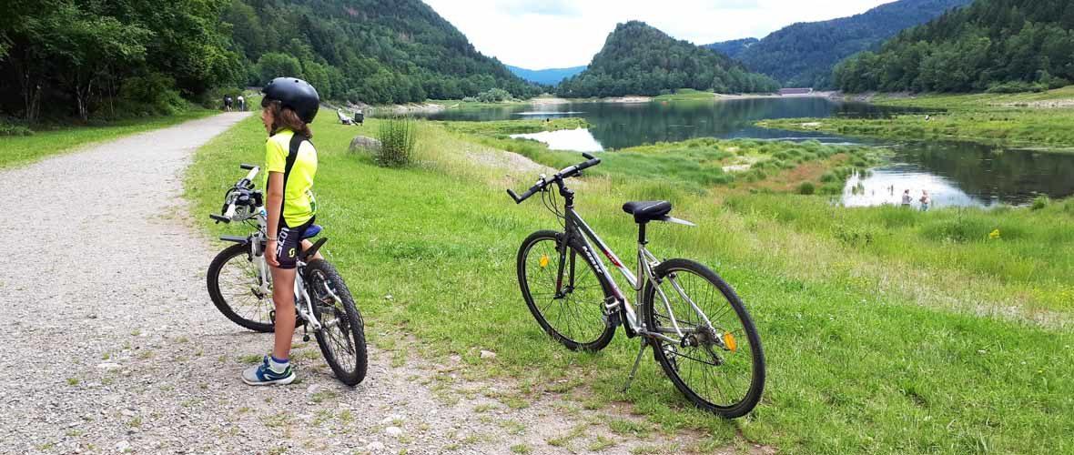 #04 Testée pour vous: escapade en train, puis à VTT, au lac de Kruth | M+ Mulhouse