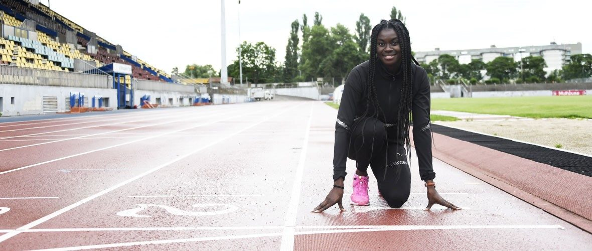 JO de Tokyo: la Mulhousienne Brigitte Ntiamoahdans les starting-blocks! | M+ Mulhouse