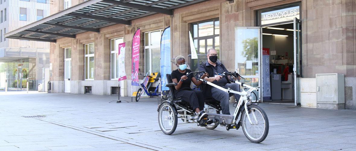 Des cycles inclusifs pour permettre à tous de faire du vélo | M+ Mulhouse