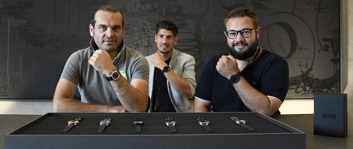 Apose, des montres de luxe made in Mulhouse! | M+ Mulhouse