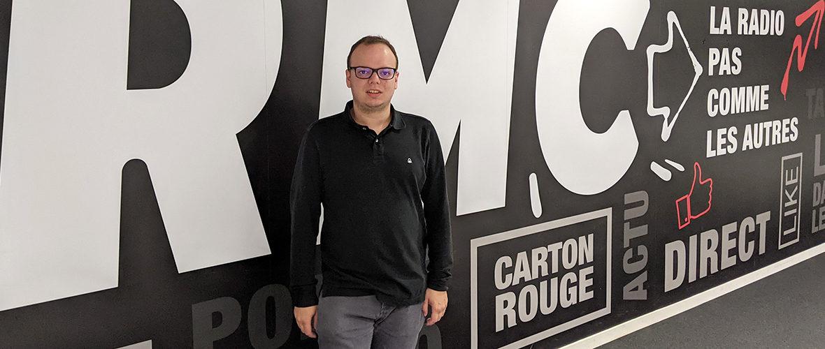 Kenny Voegelin: d'un atelier découverte de la radio à RTL2 et RMC | M+ Mulhouse