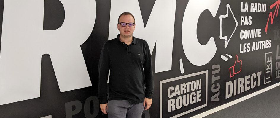 Kenny Voegelin: d'un atelier découverte de la radio à RTL2 et RMC