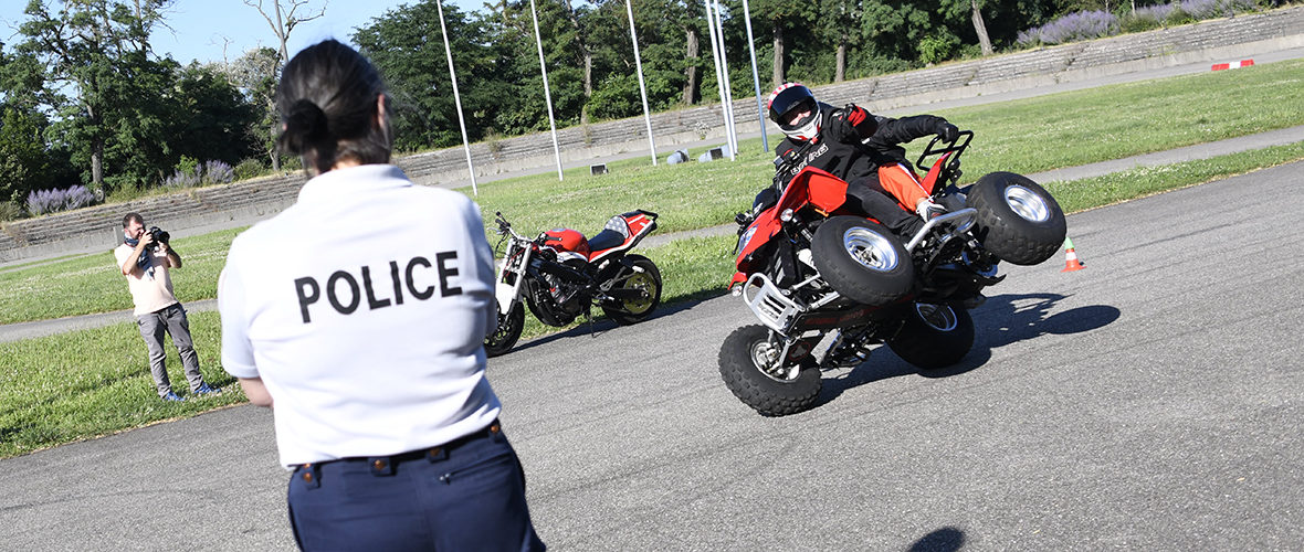 La lutte contre les rodéos urbains passe aussi par la prévention | M+ Mulhouse