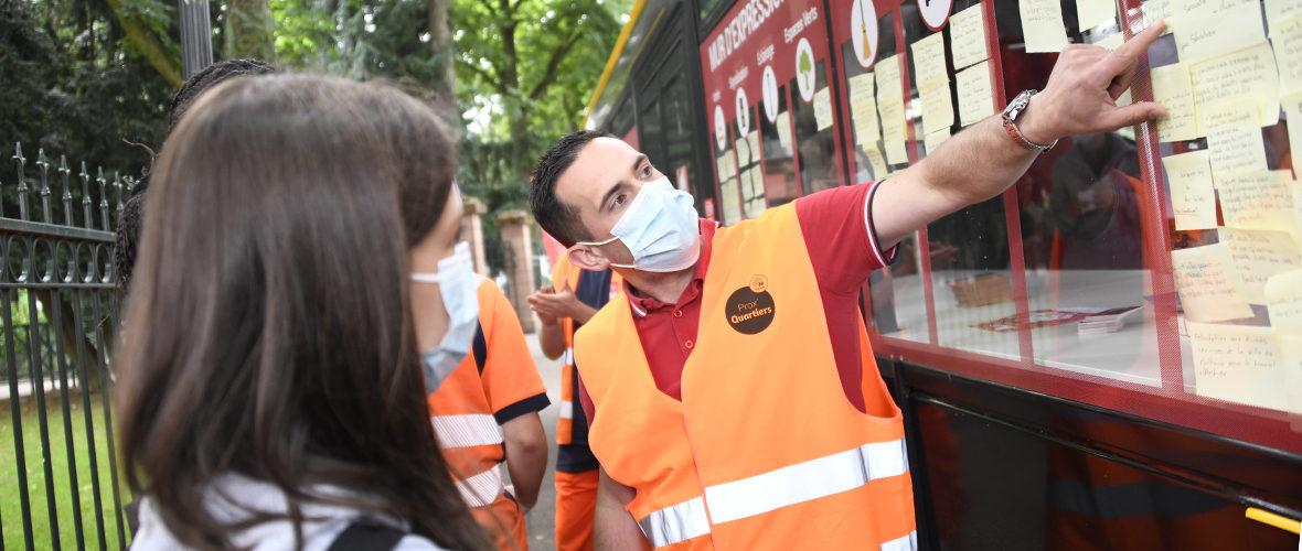 Prox'quartiers Europe: après les travaux, l'heure du bilan   M+ Mulhouse