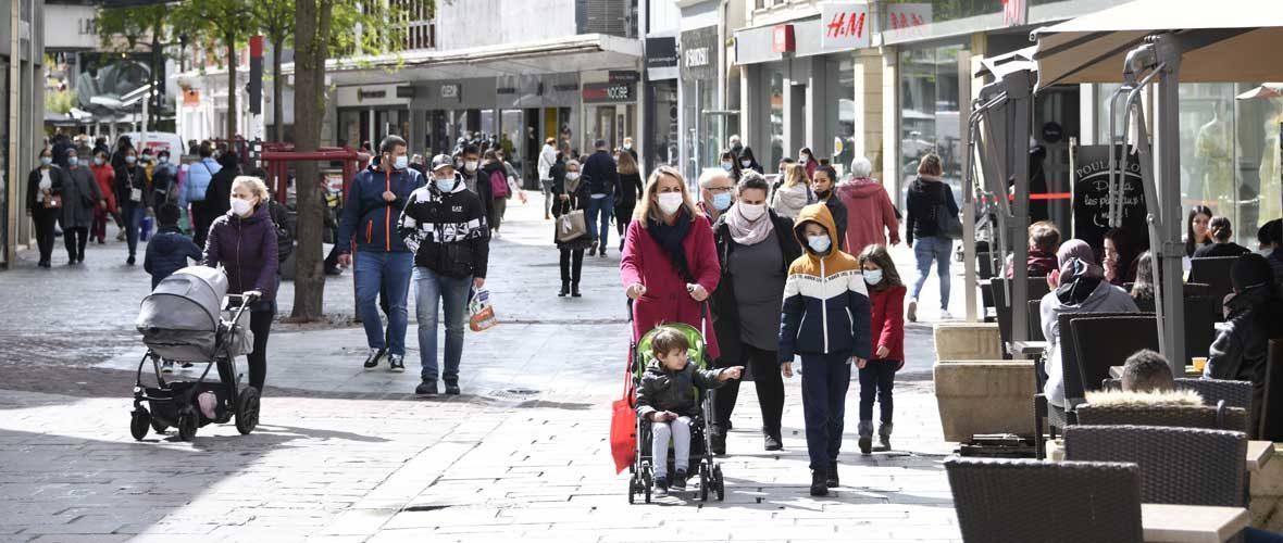 Le retour de l'obligation du port du masque au centre-ville de Mulhouse | M+ Mulhouse