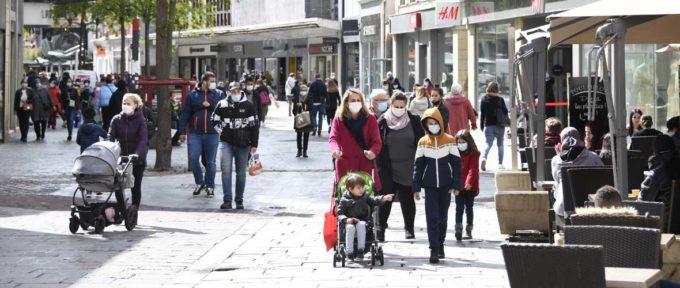 Le retour de l'obligation du port du masque au centre-ville de Mulhouse
