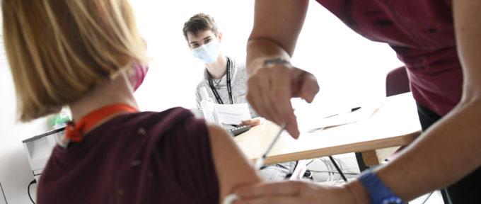 Des renforts étudiants au Centre de vaccination, pour l'été