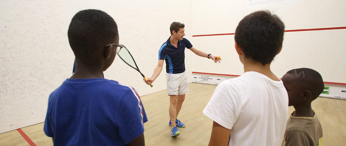 Squash pour tous: «Avoir une raquette et taper dans une balle, c'est cool!» | M+ Mulhouse