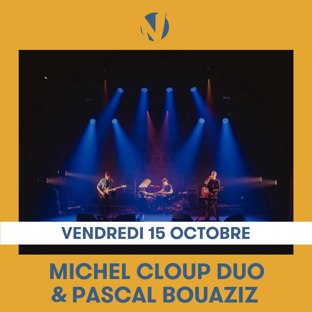 Michel Cloup Duo et Pascal Bouaziz