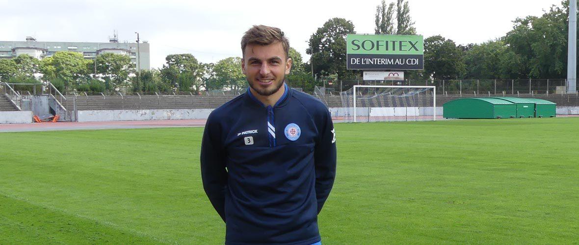 [FC Mulhouse] Edgar Delbos: «Je ne me fixe pas de limites» | M+ Mulhouse