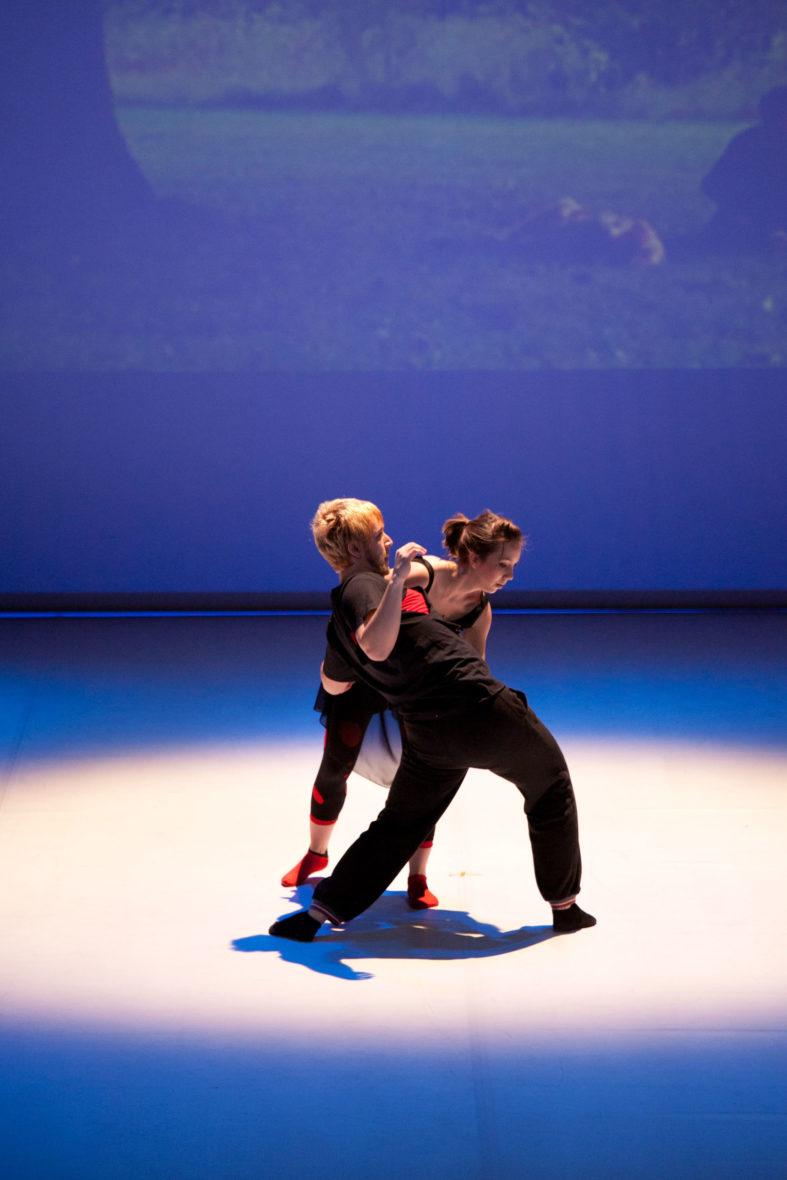 Spectacle de danse jazz et hip hop