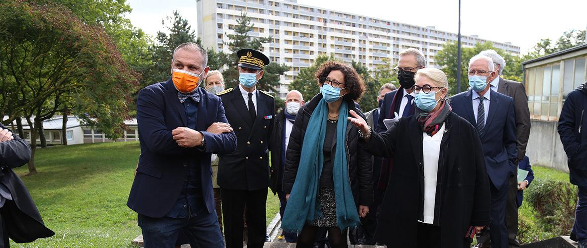 La ministre du Logement en visite à Mulhouse | M+ Mulhouse