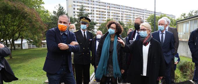 La ministre du Logement en visite à Mulhouse