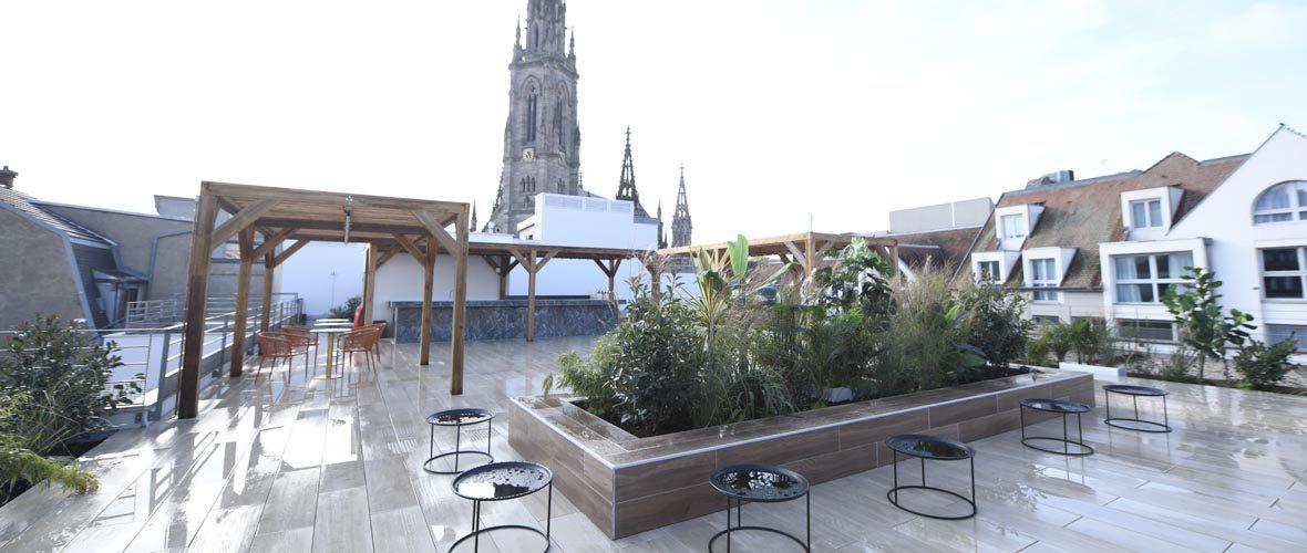 Commerces: le premier rooftop d'Alsace et le plein de nouveautés à Mulhouse | M+ Mulhouse