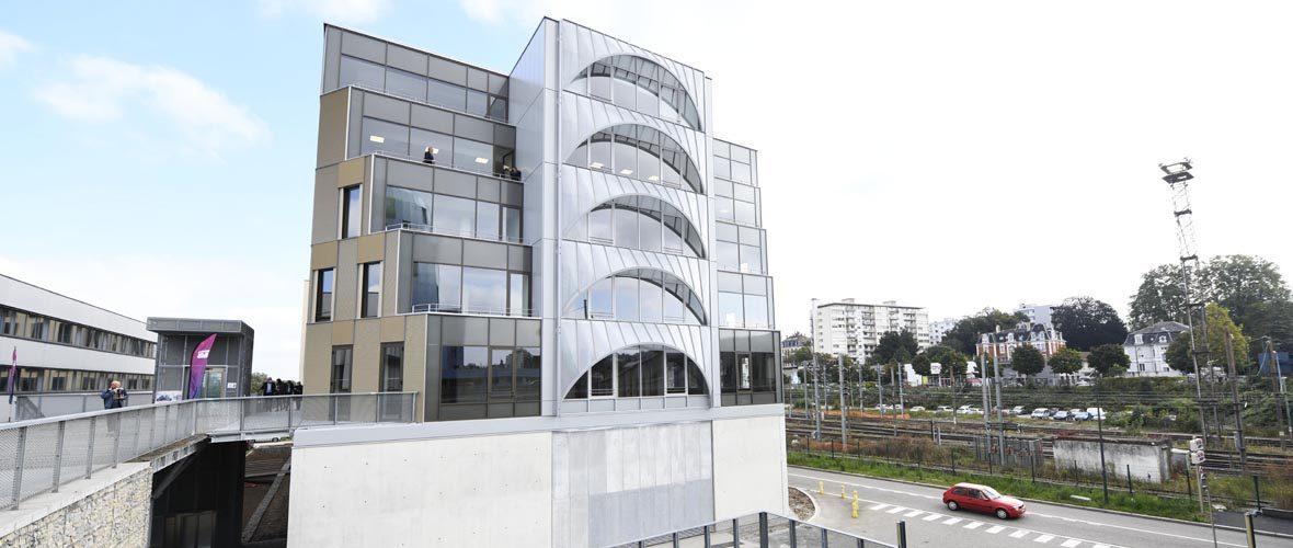 «My Platinium»: 6000 m² de bureaux pour booster le quartier d'affaires gare   M+ Mulhouse